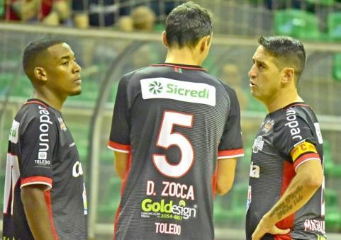 Diante da torcida, Toledo Futsal busca a primeira vit�ria contra Dois Vizinhos