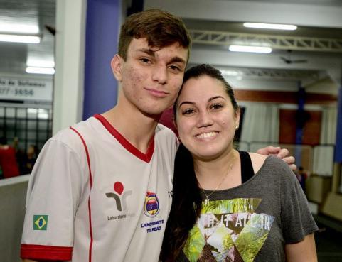 Andrei e Ana Cristina Maschio