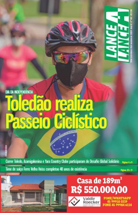 Revista Lance A Lance edi��o de setembro 2020