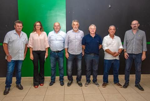 BIÊNIO 2021/2022 - Ivo Grizza foi reeleito presidente do Yara Country Clube