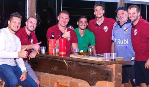 Diego, Oda, Marcelo, Fabio, Cleber, Ulivio, Fernando