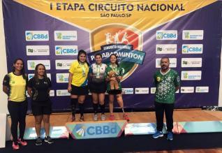 Cintya Oliveira conquista tr�s ouros no Nacional em S�o Paulo