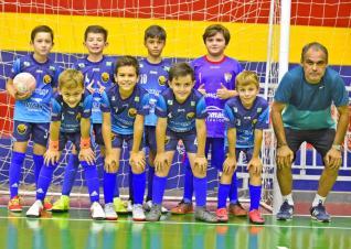 Futsal menores � atra��o � noite com seis partidas no Col�gio La Salle