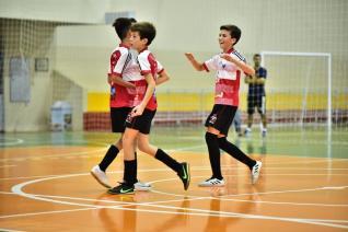 Sete jogos movimentam hoje Copa La Salle de Futsal Menores