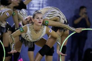 Morgana participa de competi��o em Baku, no Azerbaij�o