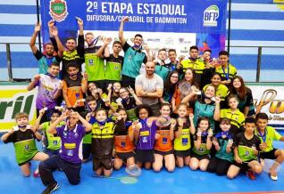 Equipe da ASSVP/AABT Toledo de Badminton conquista 35 medalhas