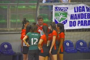 Quatro equipes comemoram t�tulo do Campeonato Paranaense de Handebol Cadete