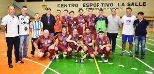 Toledo Tintas goleia e conquista o t�tulo da Copa La Salle de Futsal