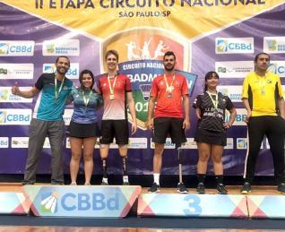 Cintya Oliveira conquista duas medalhas de ouro no Nacional
