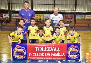 Toled�o foi palco de semifinais da Copa Kids de Futsal Menores