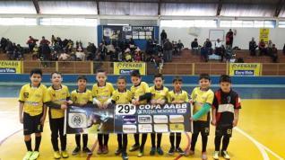 SUB 8 - S�bado acontece rodada da Copa AABB de Futsal Menores