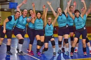 La Salle e AABB Livre decidem quarta-feira t�tulo da Copa Funet de Voleibol Feminino