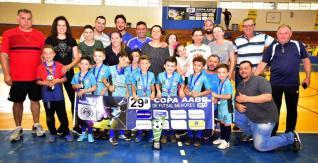 29� Copa de Futsal Menores define campe�s