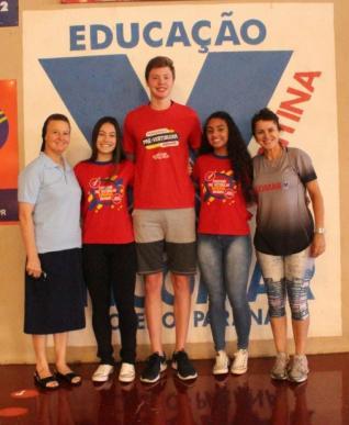 Estudantes do Incomar na Sele��o Paranaense de Voleibol