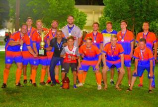 DJT Acabamentos & Decora��es conquista o t�tulo da 20� Copa AABB de Futebol Su��o