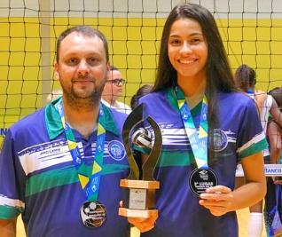 Marcos Assun��o e Thais conquistam o 3� lugar no Brasileiro Feminino
