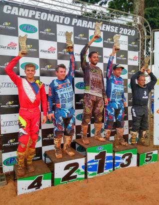 Gustavo Poleze conquistou o 4� lugar na 1� etapa do Paranaense de Motocross
