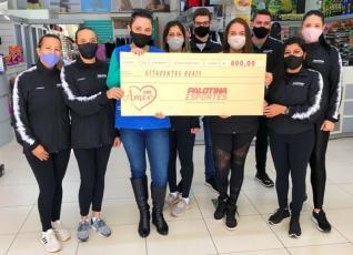 PALOTINA ESPORTES - Campanha Doe Amor