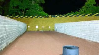 Clube de Tiro ATTOL com ilumina��o para treino noturno