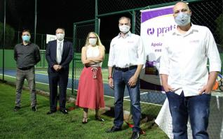 Associação Médica de Toledo inaugura quadra poliesportiva no Jardim Concórdia