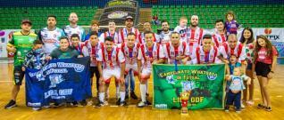 Lokomotiv / Embala Mais é campeã do certame Whatsapp de Futsal 2020
