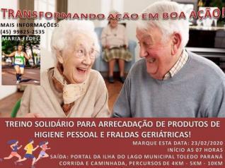Treino Solid�rio Maria Fedel