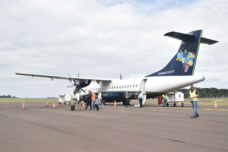 Aeroporto: Em quatro meses de opera��o, 50 voos embarcam seis mil pessoas