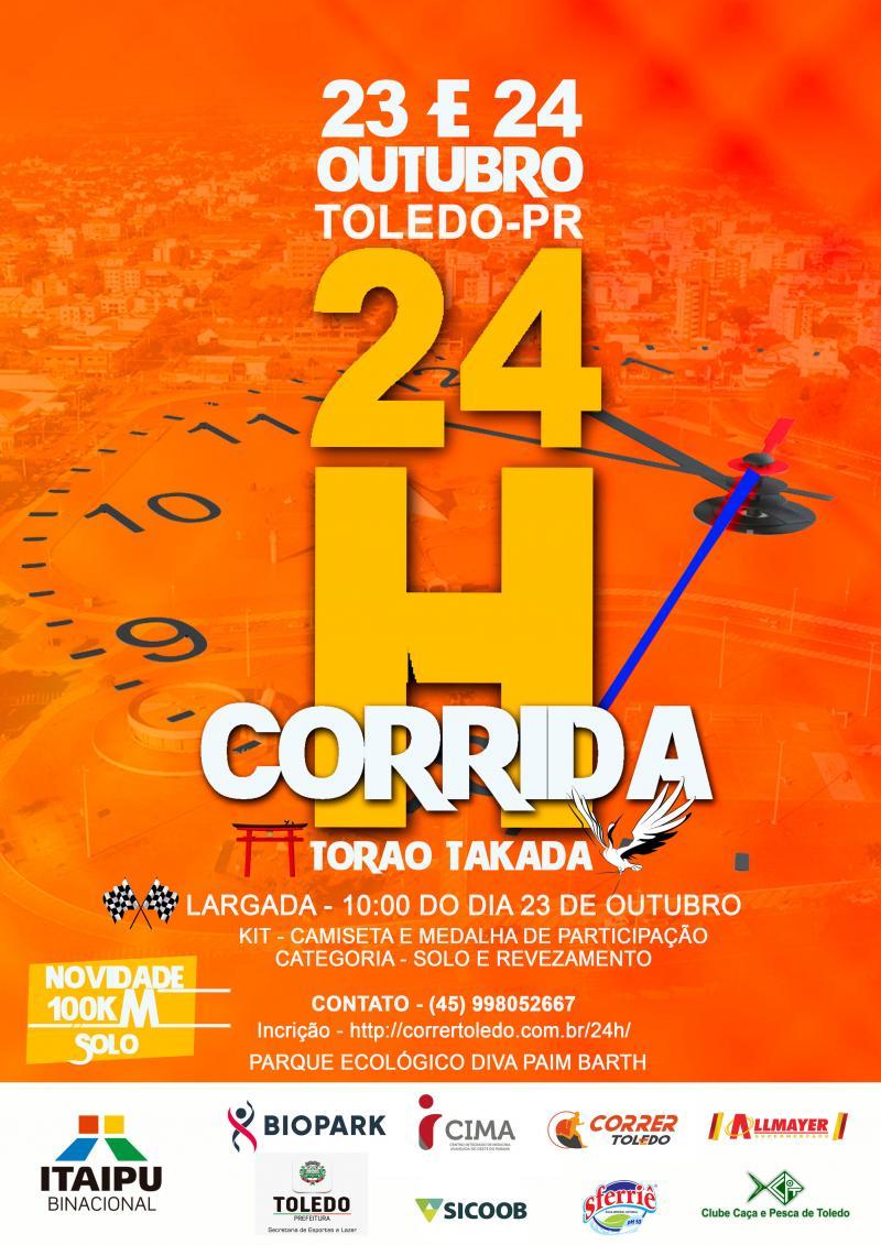 Edição 2021 da 24 Horas Torao Takada será realizadas nos dias 23 e 24 de outubro