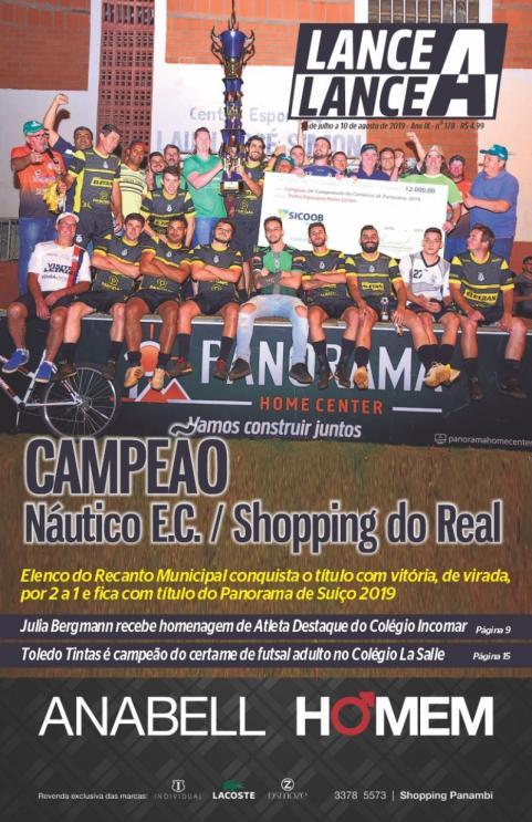 Revista Lance A Lance edição mês de julho 2019