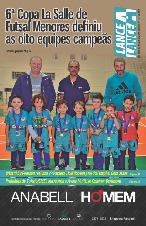Revista Lance A Lance edição mês de junho de 2019