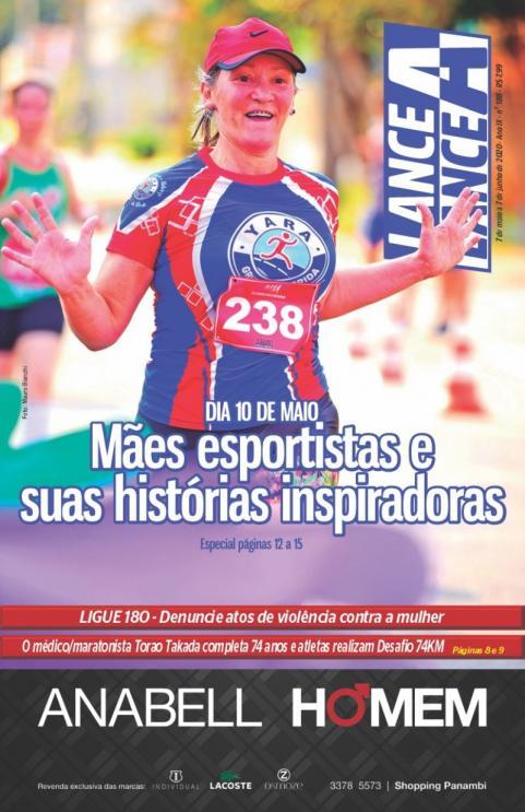 Revista Lance A Lance dição mê de maio 2020
