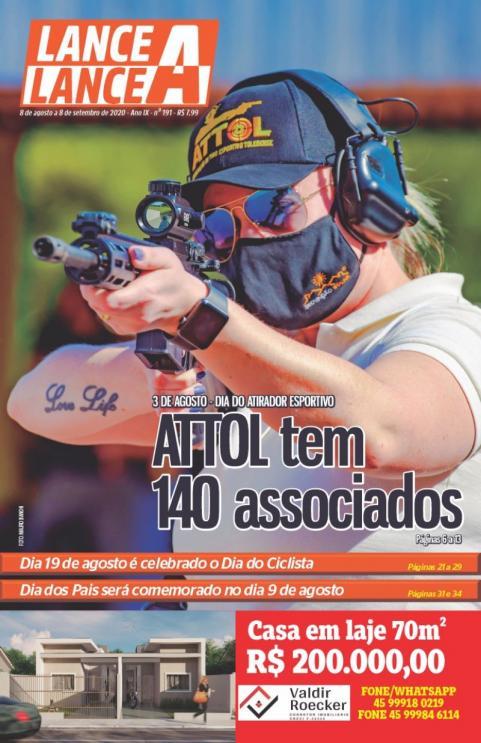 Revista Lance A Lance mês de agosto 2020