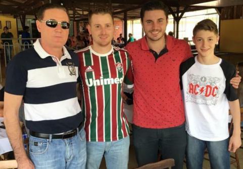 Omero Renato, Renato Luís, Raul Rossoni e João Murilo Bordim
