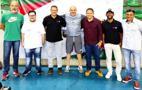 Wagner, Pedro Vitor, Irineo, Fininho, Edilson José e Venturini