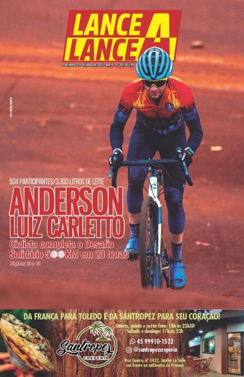 Revista Lance A Lance edição do mês de junho de 2021