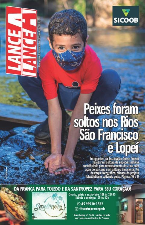 Revista Lance A Lance edição mês de agosto 2021
