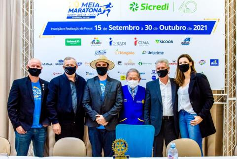 MEIA MARATONA ROTARY / SICREDI - 20ª edição será no sistema virtual