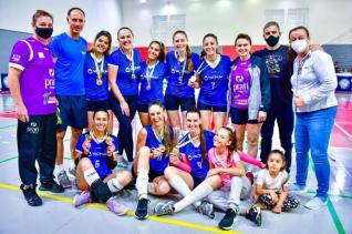 Vacinium é campeã do Municipal de Voleibol