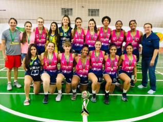 Equipes toledanas Sub 13 e 17 são campeãs da Taça Paraná