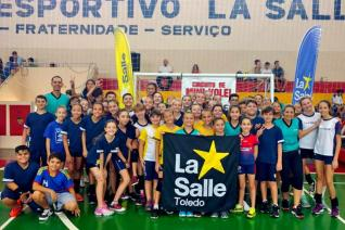 Colégio La Salle sediou a 2ª etapa do Circuito Municipal de Mini-vôlei