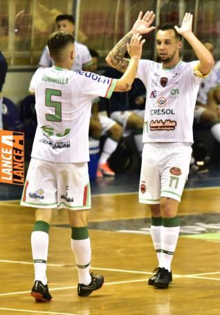 Embala Mais / Toledense Futsal vence por 3 a 1 Vera Cruz do Oeste pela Copa Amop