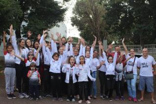 Equipe de GR de Toledo conquistou o título de campeã brasileira infantil de GR