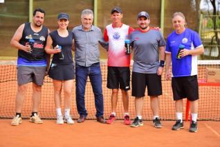 Torneio relâmpago de duplas de Tênis - 2019