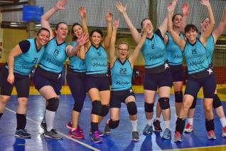 La Salle e AABB Livre decidem quarta-feira título da Copa Funet de Voleibol Feminino