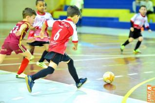 Oito jogos movimentam hoje rodada da Copa Incomar de Futsal Menores