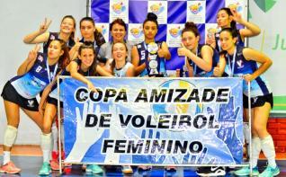 Colégio Incomar é campeão da 4ª etapa da Copa Amizade de Voleibol