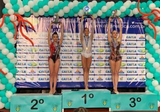 Kauanny conquista prata e bronze no Brasileiro Juvenil
