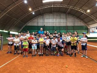 Intercâmbio Escolinha de Tênis - 2019