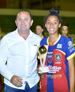 TEC/OVFC é vice-campeã do Paranaense de Futebol Feminino
