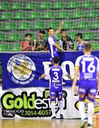 Toledo Futsal enfrenta São José dos Pinhais às 16h30 no Alcides Pan